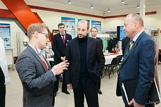 «Sovtest ATE» has been visited by vice-governor of Kursk region Vyacheslav Berzin.