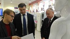 The head of Region department of industrial policy and project management of Minpromtorg Russia, Vitaliy Hocenko visited «Sovtest ATE»